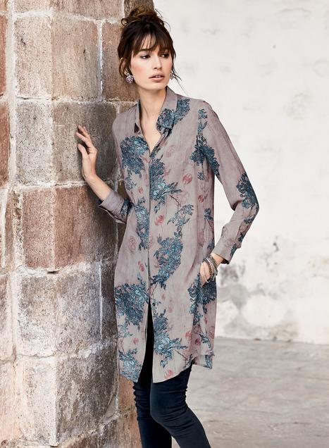 Sayuri Silk Tunic - Peruvian Connecti