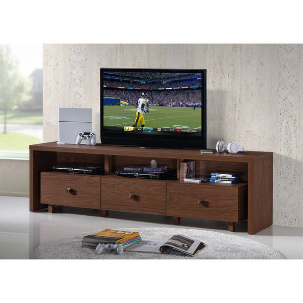 Shop Urban Designs Elegant TV Stand For TVs Up To 75 Inches With .