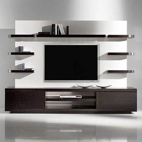 flat screen tv mount - living room   Desain furnitur, Dekorasi .