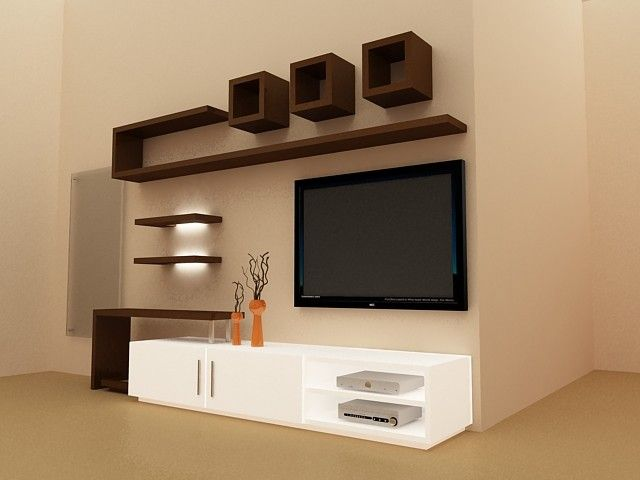 Interior Design Ideas with TV Unit (With images) | Tv unit .