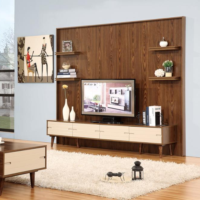New Model Tv Cabinet With Showcase/tv Tunit Design For Hall .