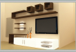 LCD TV Showcase Designs for | Tv unit furniture, Modern tv wall .