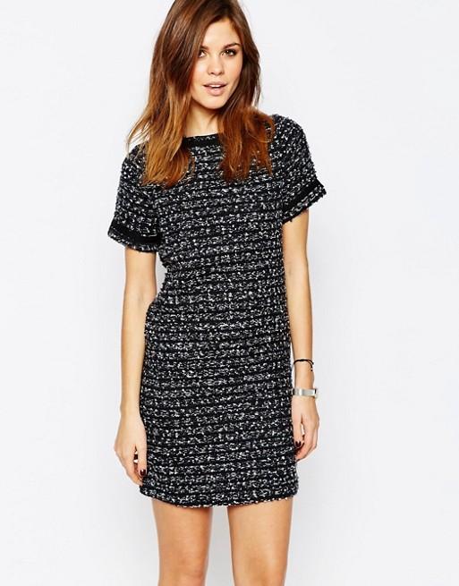 Warehouse Tweed Shift Dress | AS