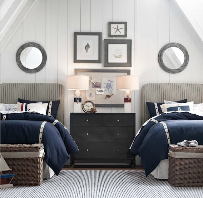 22 Guest Bedrooms with Captivating Twin Bed Desig