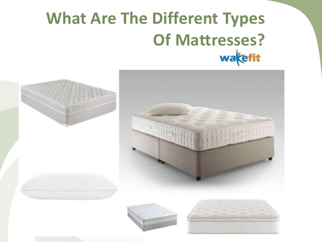 What Are The Different Types Of Mattresse