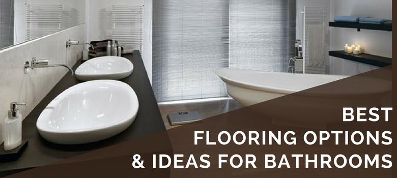 6 Best Bathroom Flooring Options in 2020 | Ideas, Tips, Pros & Co
