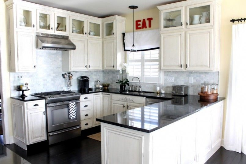 Small Cottage Kitchen U Shaped Kitchen Design Ideas Tall Kitchen .
