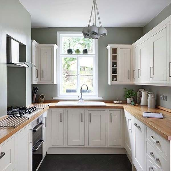 19 Beautiful Showcases of U-Shaped Kitchen Designs for Small Homes .