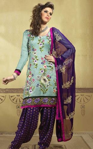 Unstitched Salwar Kameez at Rs 450/piece | Unstitched Salwar Suit .
