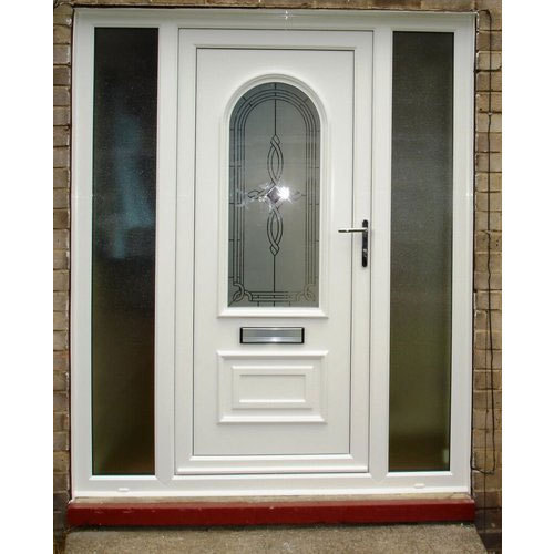 Designer UPVC Door at Rs 380/square feet | UPVC Doors | ID .