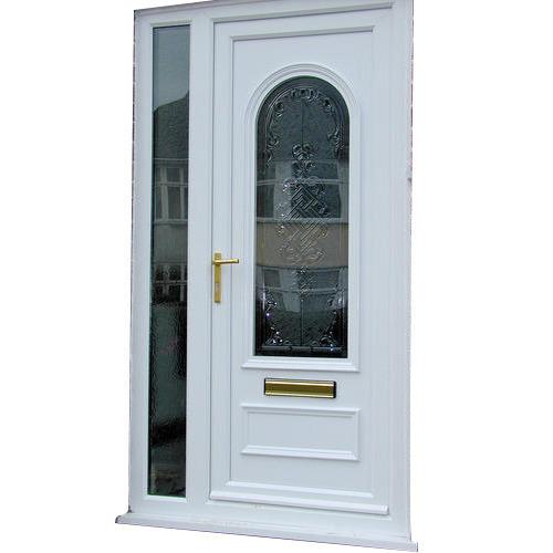 White Designer UPVC Door, Rs 700 /squarefeet ACE Windows | ID .