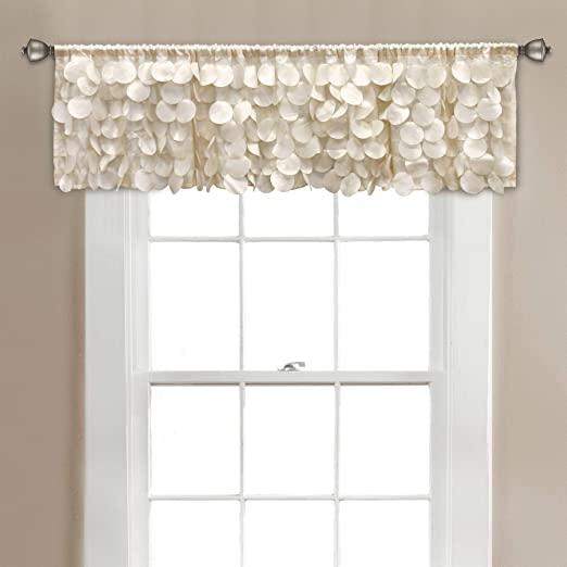 Amazon.com: Lush Decor, Blush Gigi Valance Textured Window Kitchen .