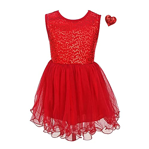 Red Valentines Day Dress: Amazon.c