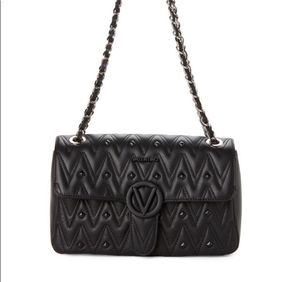 Valentino Bags | Black Antoinette Chain Shoulder Bag | Poshma