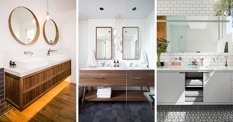 5 Bathroom Mirror Ideas For A Double Vani