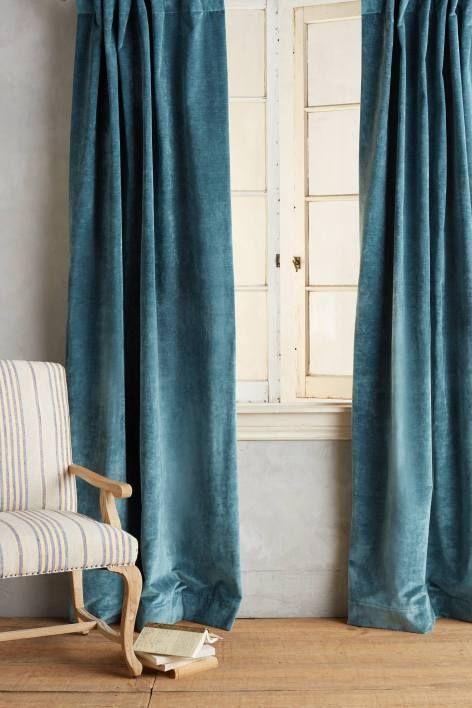 Impressive Teal Velvet Curtains and Best 20 Velvet Curtains Ideas .