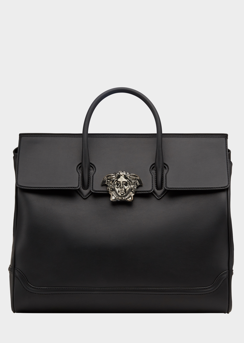 Palazzo Men's Leather Bag In Black (With images) | Mens leather .