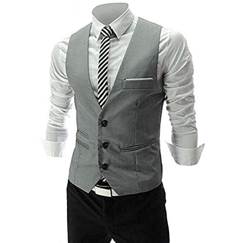 Grey Vest: Amazon.c