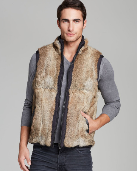 Fur Vests for Men | Fall Street Style - FurInsid