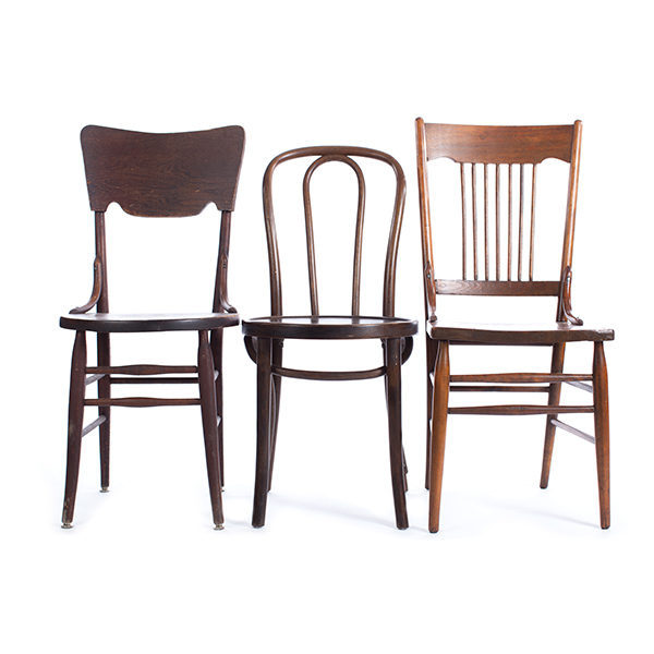WOOD CHAIR RENTAL: A LA CRATE | Boutique Rentals Madison WI .