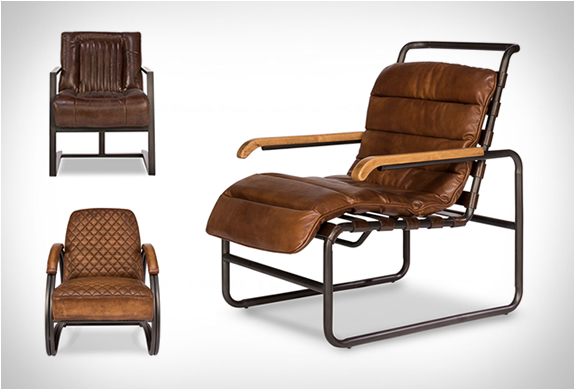 Vintage Leather Chairs | By Sarre