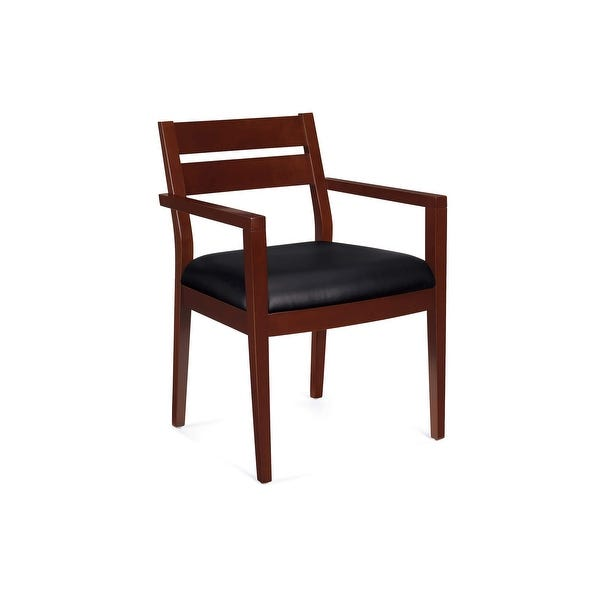 Shop Monroe Wood Guest Chairs - 23x23x33 - Overstock - 275542