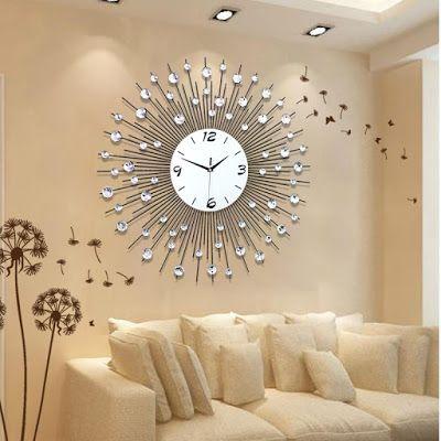25 European Luxury Wall Clock Design Ideas | Wall clocks living .