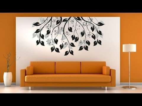 Simple Living Room Wall Painting Ideas & Designs for Interior .