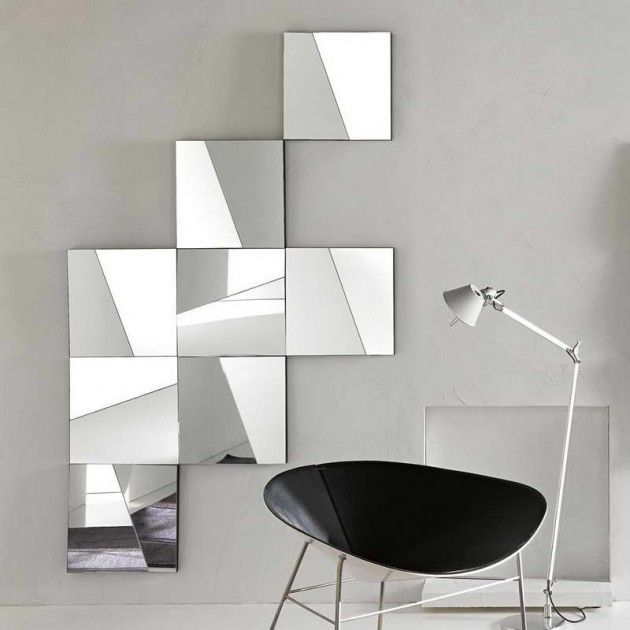28 Unique and Stunning Wall Mirror Designs for Living Room (With .