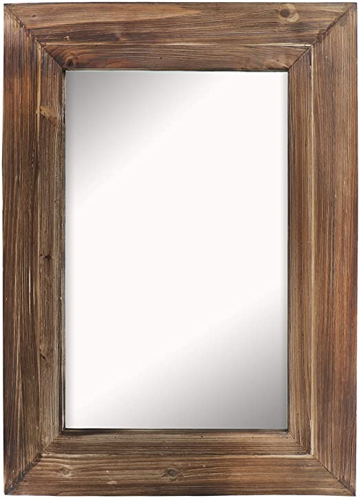 Amazon.com: Barnyard Designs Decorative Torched Wood Frame Wall .