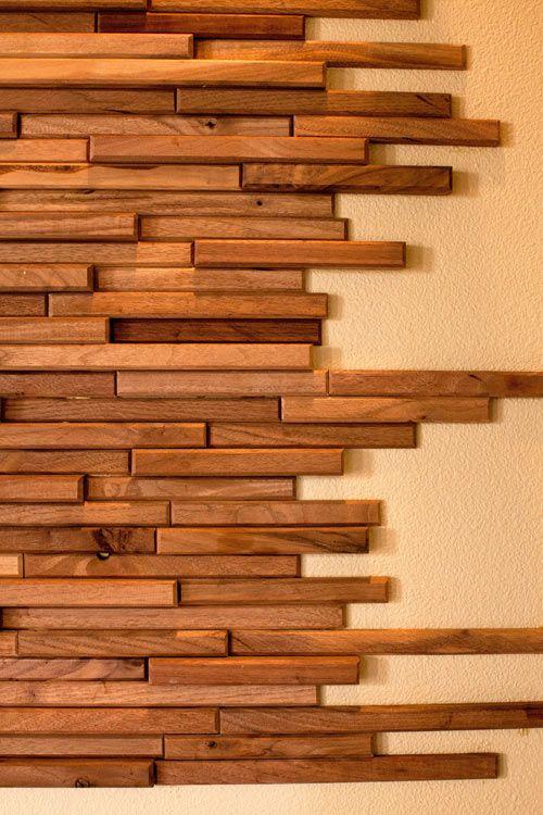 Wood Tiles by Everitt & Schilling | Wood wall til