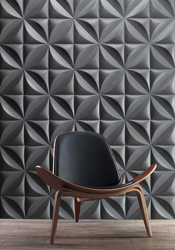 25 Creative 3D Wall Tile Designs To Help You Get Some Texture On .