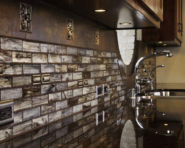 Top Modern Ideas for Kitchen Decorating with Stylish Wall Tile Desig