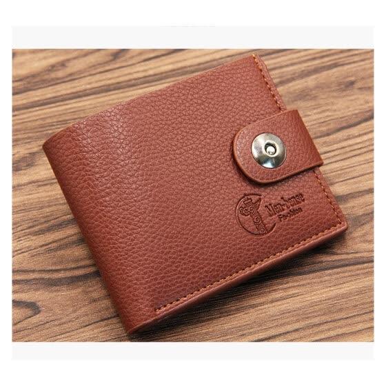 Shop 2018 New Men Wallet PU Short Clutch Wallets For Men Bifold .