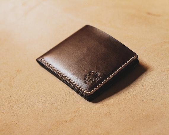 Mens wallet slim Wallets for men Leather card holder Mens | Et