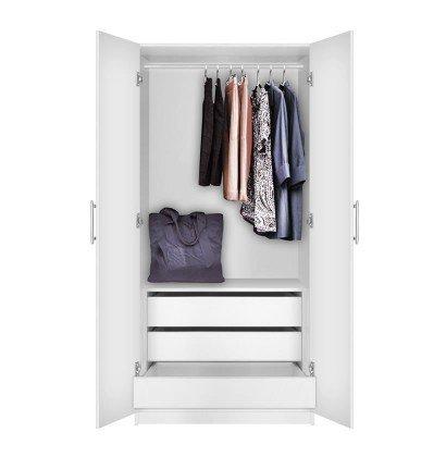 Alta Wardrobe Cabinet - 3 Interior Drawers | Contempo Spa