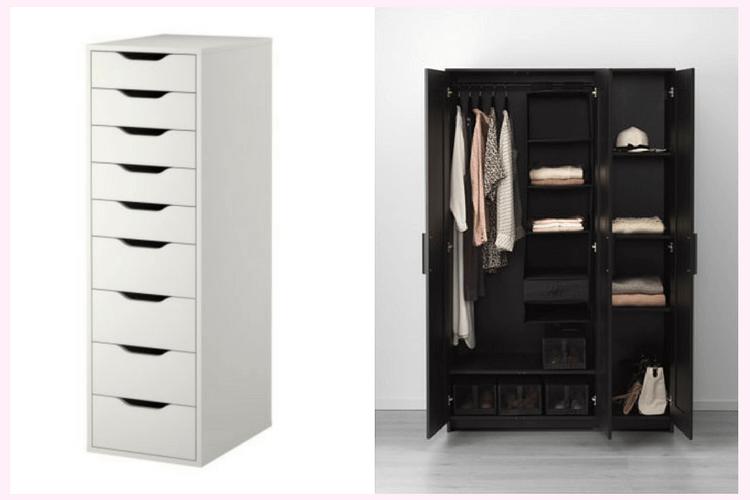 Upgrading Brimnes Wardrobe with Drawer Units – Home|Health|Lifesty