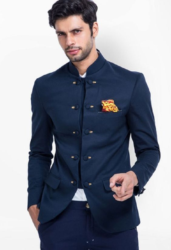 Bandhgala Blazers | Indian men fashion, Designer suits for men .