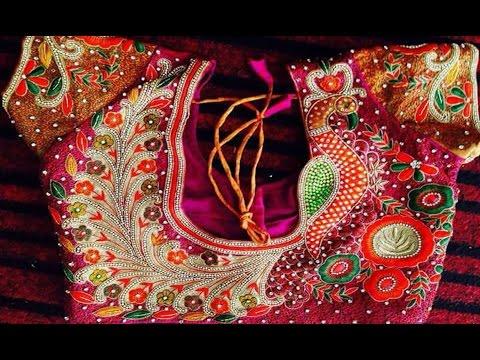 Wedding Blouse Designs For Silk Sarees - YouTu
