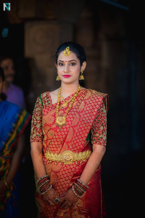 Latest Bridal Blouse Designs in Chennai, South Indian Bride .