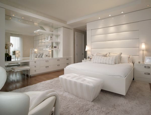 10 Of The Most Stunning White Bedroom Designs - House