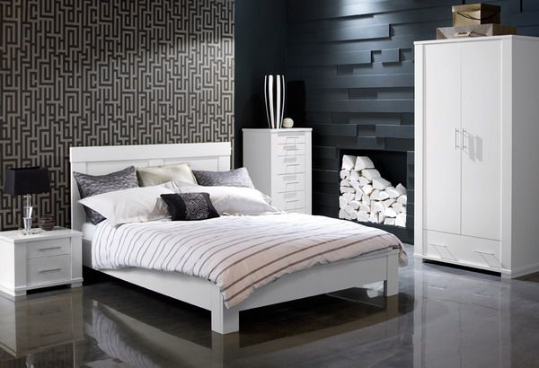 Masculine Bedroom Ideas featuring White Bedroom Furniture Sets .