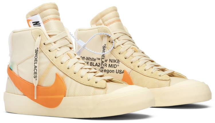 OFF-WHITE x Blazer Mid 'All Hallows Eve' - Nike - AA3832 700 | GO
