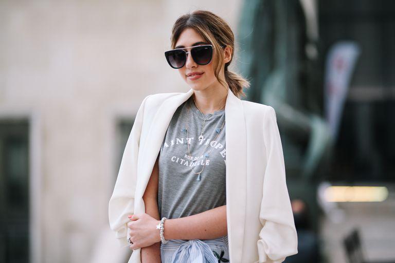 How to Wear a White Blazer for Wom