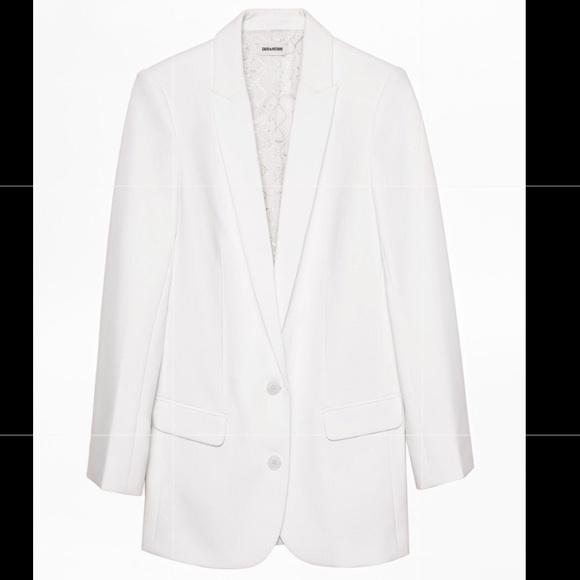 Zadig & Voltaire Jackets & Coats | Zadig Voltaire White Blazer .