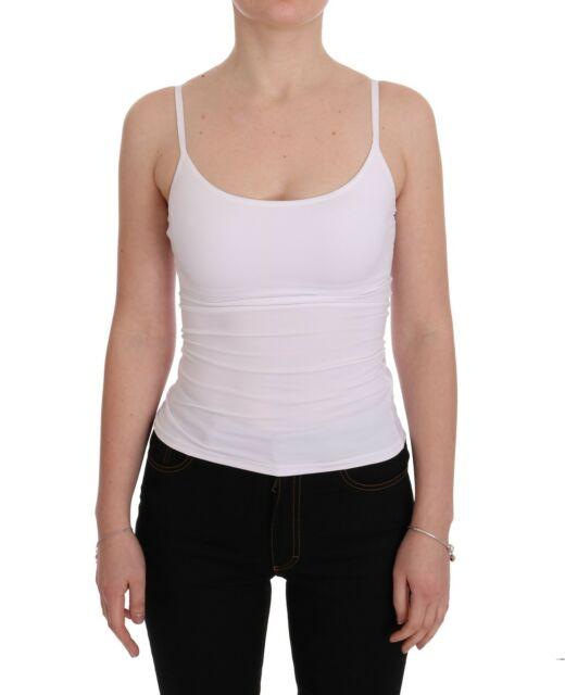 DOLCE & GABBANA D&G Underwear Tank Top White Camisole Lingerie IT1 .