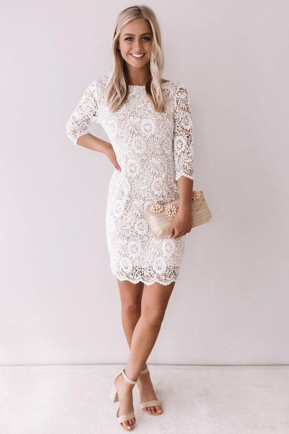 How To Wear White Dresses: Simple Style Guide For LWD 2020 .