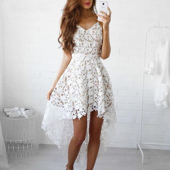 Bohemian White Lace Dress | Boho Style Dresses | Top Tier Sty