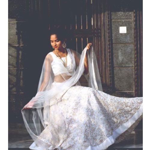 Party Wear Designer White Lehenga Choli, Rs 5400 /piece Tulsi .