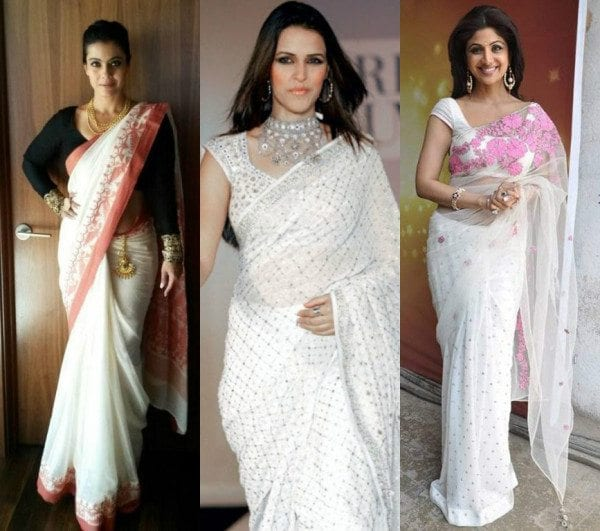 Tips to flaunt the classic white sarees – South India Fashi